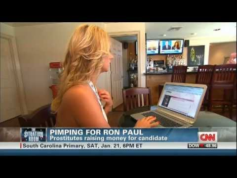 Pimping for Ron Paul - CNN - The Situation Room - January 13th, 2012