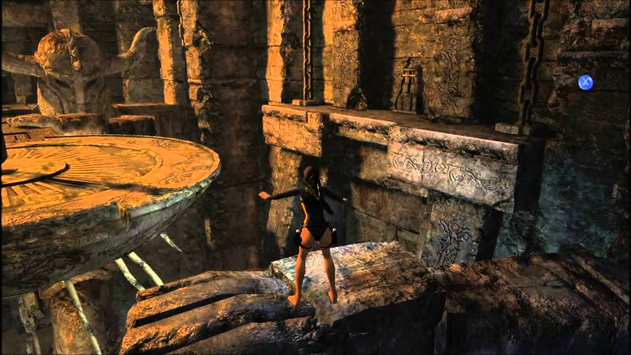 tomb raider underworld kraken room walkthrough
