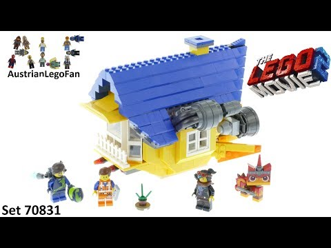 Lego Movie 2 Emmet´s Rescue Rocket! - Lego Speed Build Review