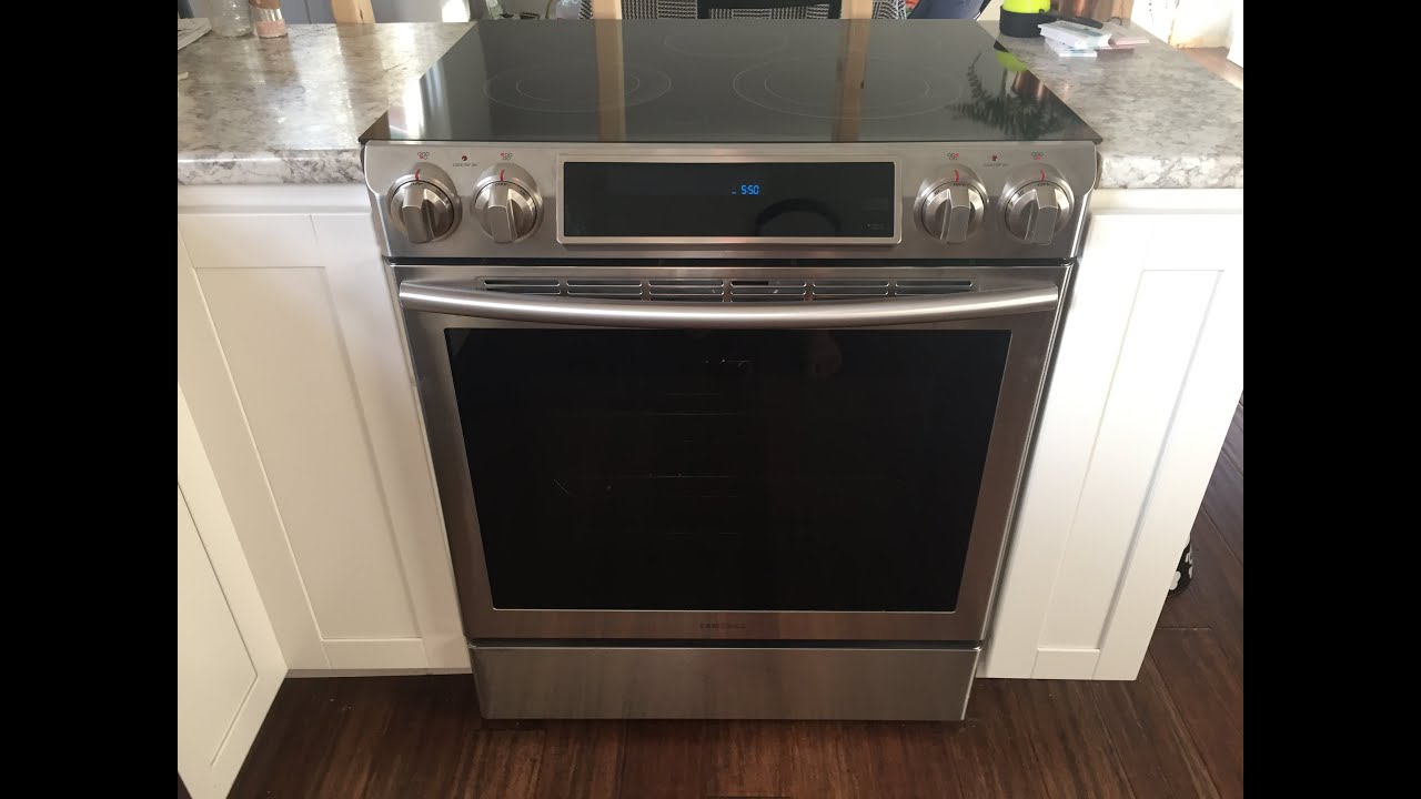 Samsung Ne58f9500ss Slide‑in Electric Stove Help Comment