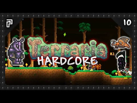 😈 Golem Farming, Beetle Armour & Eclipse! | Terraria 1.3.5 Hardcore Let's Play [S1:E10]