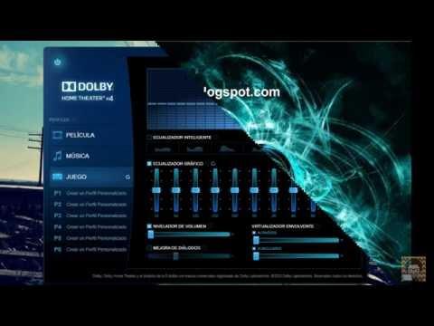 Instalar Dolby Home Theater V4