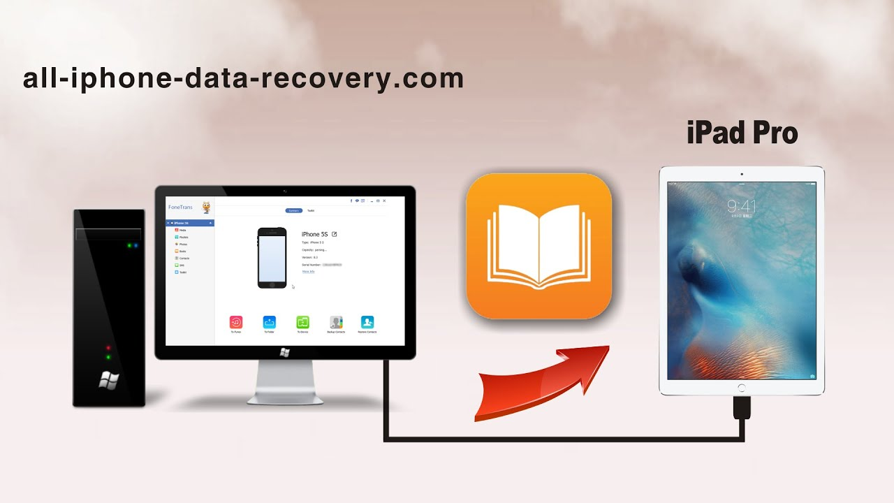 How To Transfer Pdf To Ipad Pro, Import Epub Books Fromputer To Ipad Pro