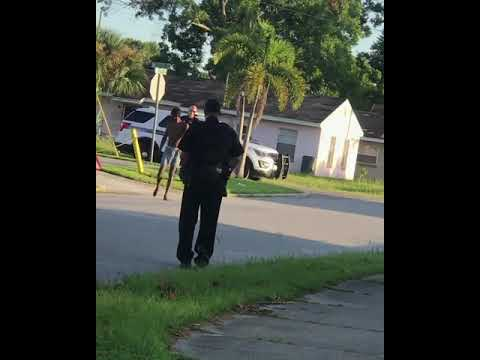 The Sana G Morning Show - Cop Laughs As Dude In Boxers Gets Tased & Out Runs His Fellow Officers!