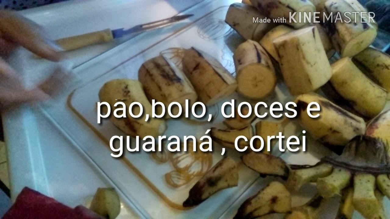 dieta da banana da terra cozida