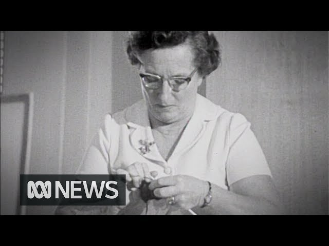 CWA knitting competition (1971)