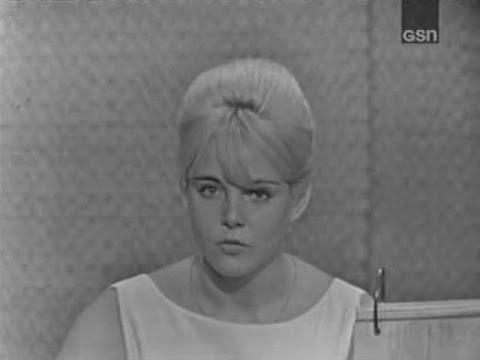What's My Line?  Peter Gabel; Sue Lyon; Rudy Vallee panel Jul 5, 1964