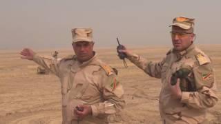 بي بي سي ترافق الفرقة التاسعة العراقية باتجاه الحمدانية