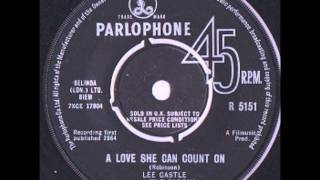 Lee Castle and the Barons - A Love She Can Count On (Remember Liverpool Beat 58)