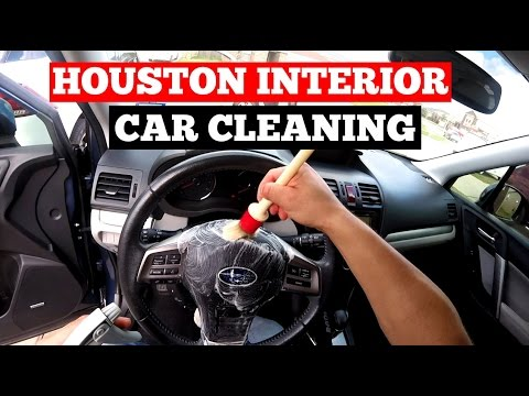 Elegant Interior Car Detailing Houston  (281) 450 3147  Cleaned To Best Condition  Possible!