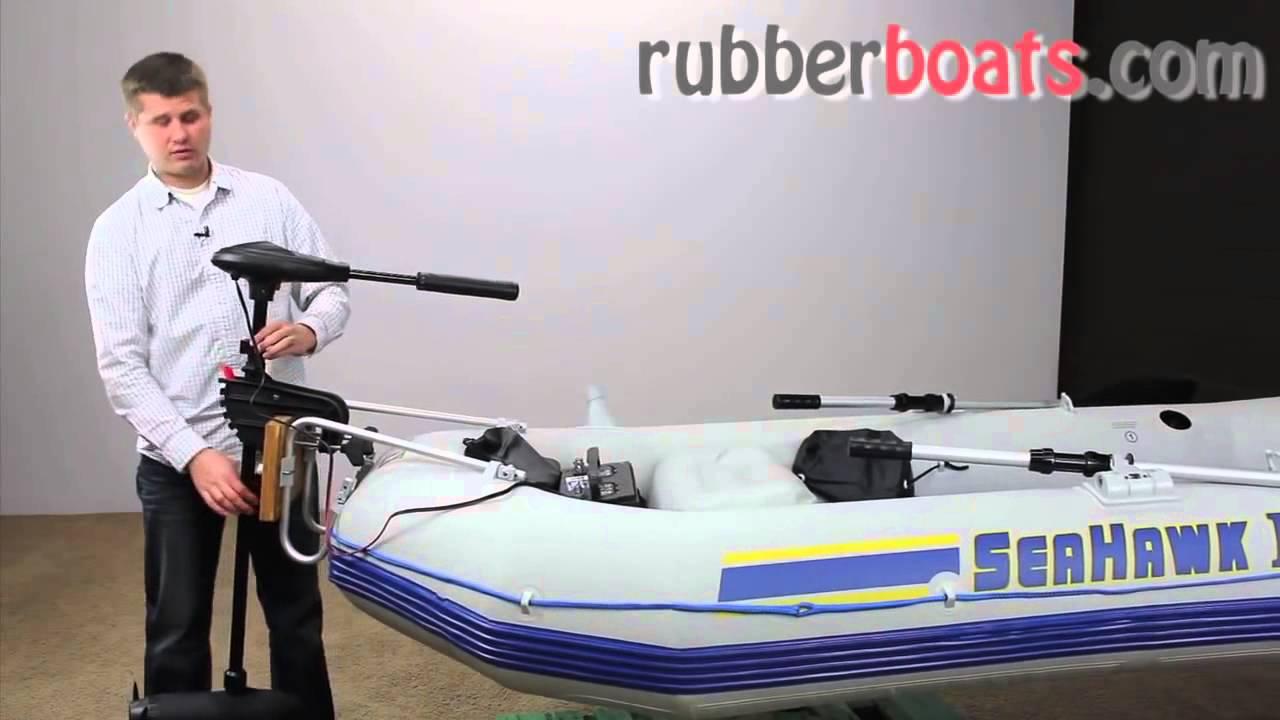 Лодочный электромотор MERCURY MOTORGUIDE R3 30 HT - YouTube