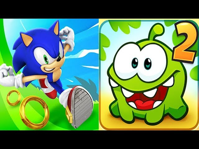 Sonic Dash vs Cut the Rope 2