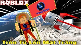 ROBLOX | Escape From Prison On The Moon In Later Missions To Loot The Museum | PRISON ESCAPE OBBY | Vamy Tran