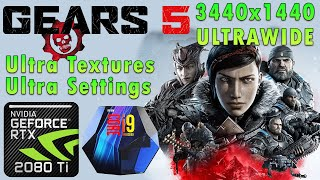 Gears 5 | Ultra Textures | Ultra Settings | RTX 2080 Ti | i9 9900k 5Ghz | Ultrawide 3440x1440