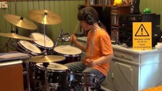 Elastinen - Anna Sen Soida - Drum Cover