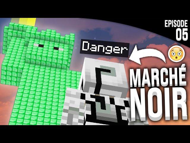 JE VOUS DÉVOILE LE SECRET DE LA STATUE... - Episode 5 | Minecraft Apocalypse