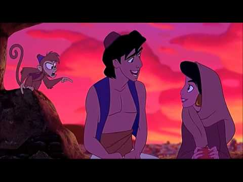 "ALADDIN (1992) Scene: ""Do You Trust Me?""/Aladdin's Captured."