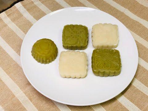 Mooncake- Khi Ban không có bột chuyên Bánh Dẻo 2 -Công thức bánh Dẻo chuẩn .Cách pha bộtđơn giản