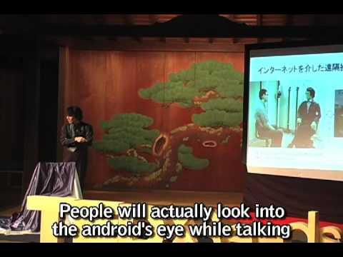 "Hiroshi Ishiguro 石黒 浩 ""Robots are mirrors of human heart"" - TEDxSeeds2009"
