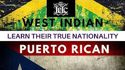 The Israelites: Puerto Rican and West Indian Learn Their TRUE Nationality