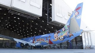 "Bringing Alaska Airlines ""Friendship and Beyond at Disneyland® Resort"" Aircraft to Life"