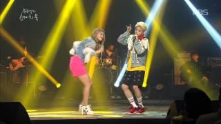 [HIT] 유희열의 스케치북-엠버, 에일리 - Uptown Funk.20150306