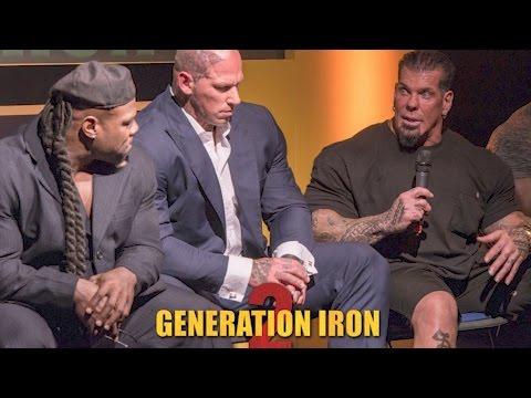 GENERATION IRON 2 - RED CARPET - PREMIER - PRESS CONFERENCE - Q & A