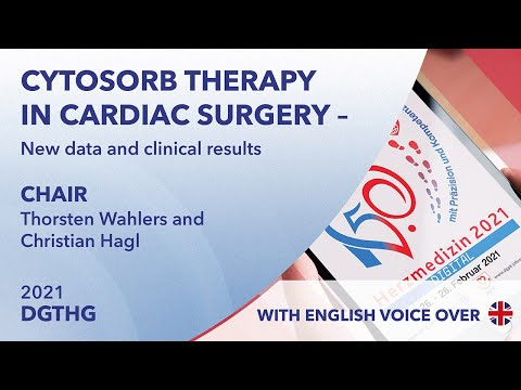 CytoSorb therapy in cardiac surgery - New data and clinical results | DGTHG 2021