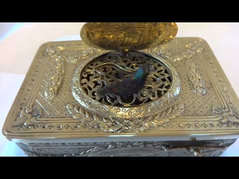 Antique singing bird box with royal provenance