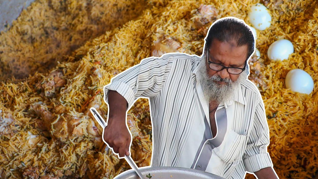 Ramzan Briyani Recipe -Traditional Chicken Dum Biryani Recipe | Mullai Canteen Bhai Veetu Briyani