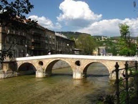 Sarajevo city tour  , Bosnia Herzegovina in Ultra 4K