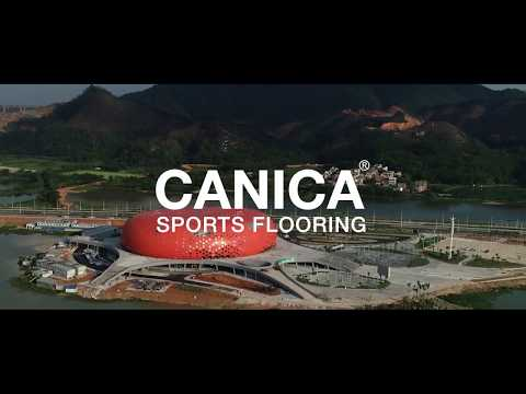 CANICA SPORTS FLOORING SYSTEM – 2018 GUANGDONG PROVINCIAL SPORTS GAME SIHUI SPORTS CENTRE
