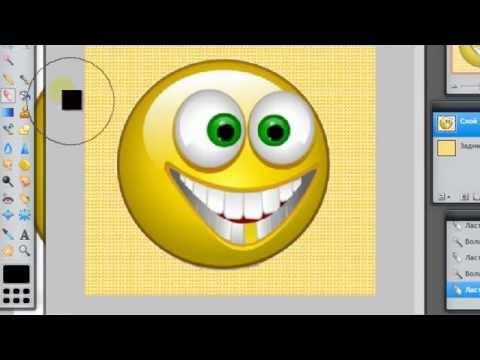 Как вставлять картинку на другой фон. Фотошоп онлайн