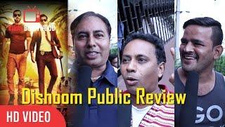 Dishoom Movie Public Review | Varun Dhawan, John Abraham, Jacqueline Fernandez
