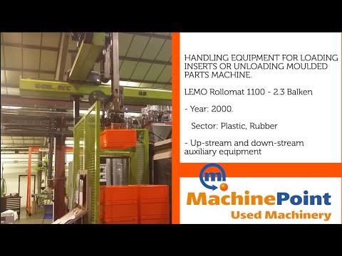 ENGEL ERC73 / 2CL Used Handling equipment loading inserts unloading moulded Machines MachinePoint