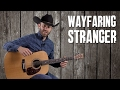 Wayfaring Stranger - Easy Guitar Lesson - How to Play on Guitar in the Style of Johnny Cash