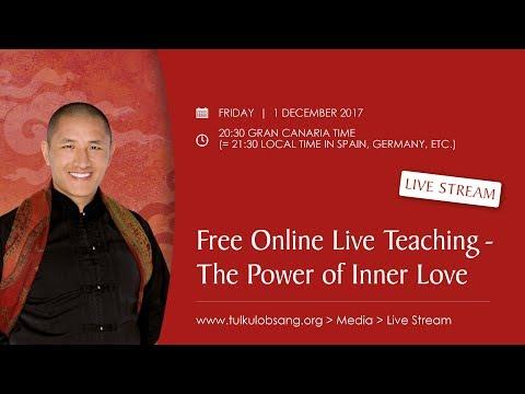 Free Online Live Teaching - THE POWER OF INNER LOVE