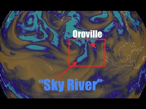 "Incoming ""Sky River""-California 