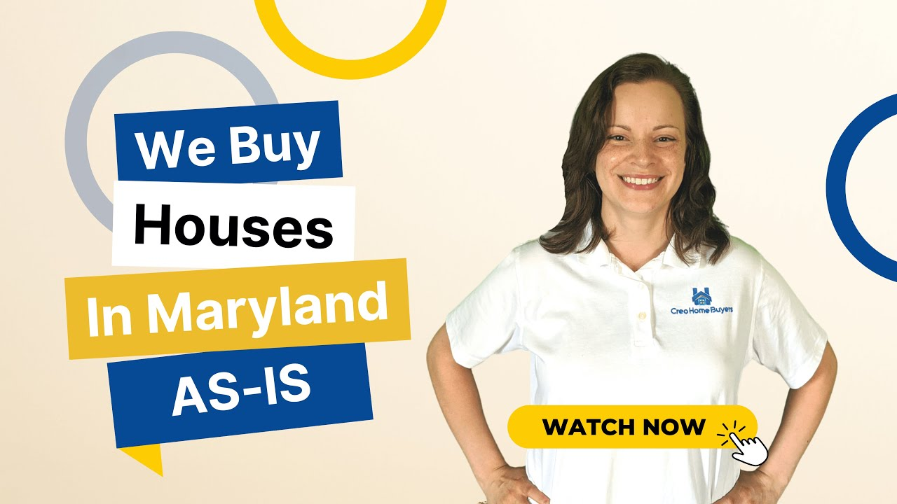 We Buy Houses in Baltimore - Creo Home Buyers