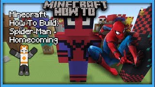Minecraft How To Build: Spider-Man - Homecoming (Statue)
