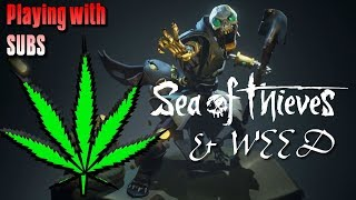 🔥 We survived 8 Skeleton ships & a Megalodon Sea Of Thieves 💀 🎮👑 KingBong 420 ☠