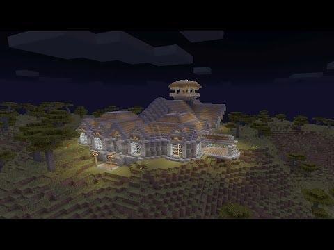 Minecraft - Постройки - Механический дом