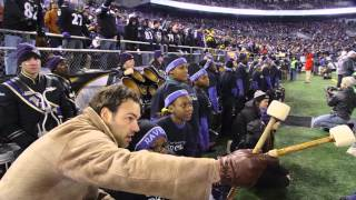 BSO and OrchKids Perform at the Ravens Thanksgiving Game