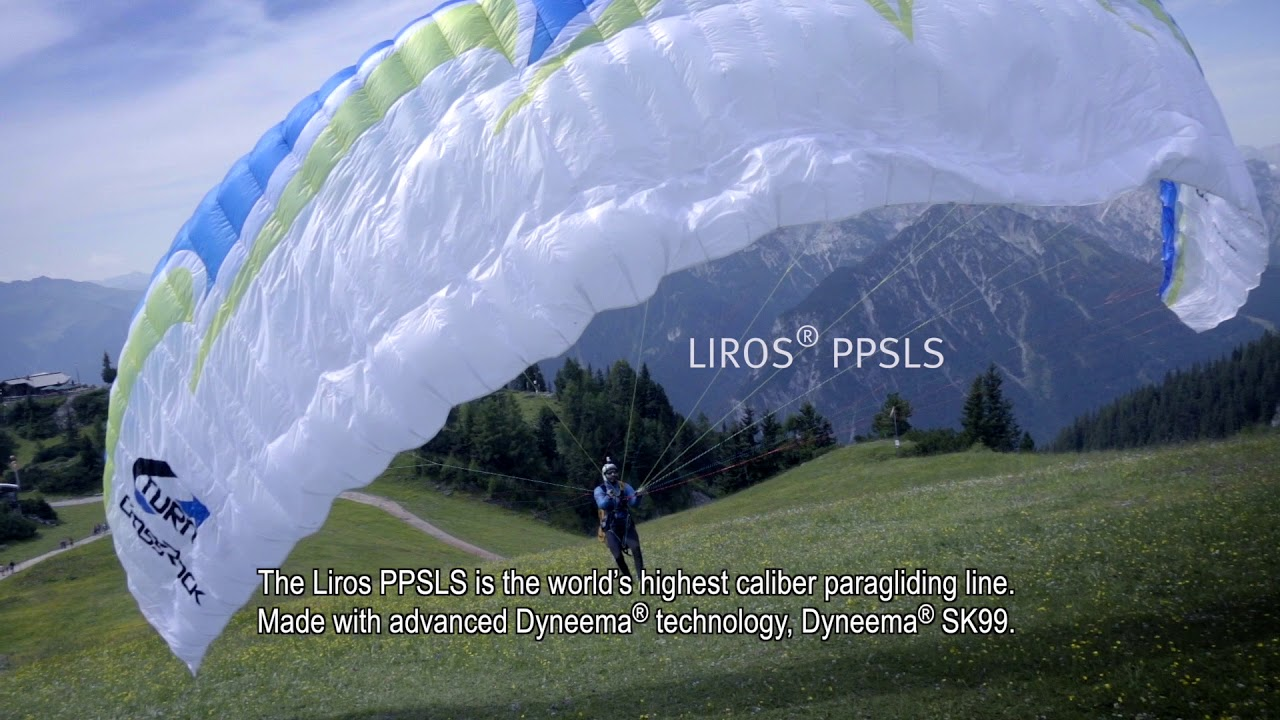 LIROS PPSLS - Paragliding Only with Dyneema (with engl  subtitles