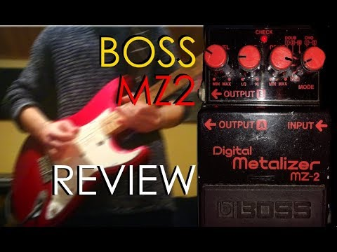 Boss MZ2 Metalizer | Review for Gilmour and Pink Floyd