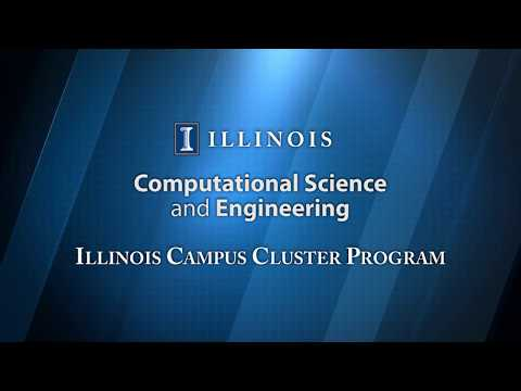CSE Illinois Campus Cluster Program Training:  LESSON 6 - Interacting with Software Modules