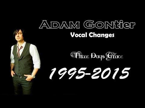 Adam Gontier - Voice Change 1995-2015