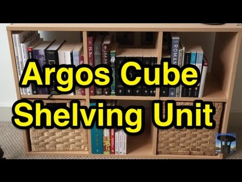 size 40 0e5ea faee2 Argos Home Cube Shelves Quick Build and Thoughts