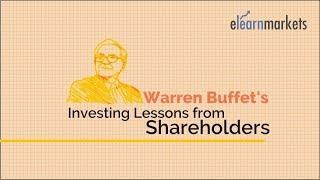 Warren Buffett's Investing lessons from Shareholders Letters of 2016