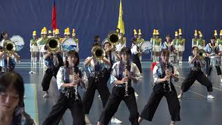 溫哥華台加藝文節 - 北一女樂儀旗隊表演